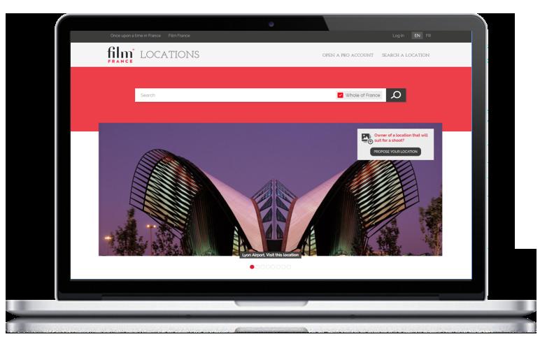 Cas client Naes - Film France - visuel application lieux de tournage